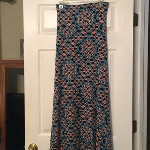 Lularoe 2Xl Maxi Skirt